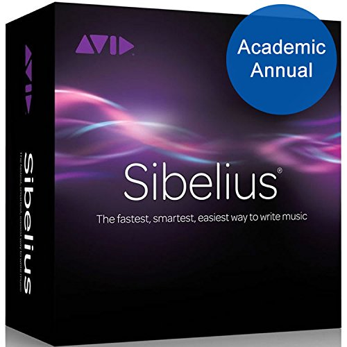 Sibelius 8 Academic for Students/ Teachers Annual Subscription