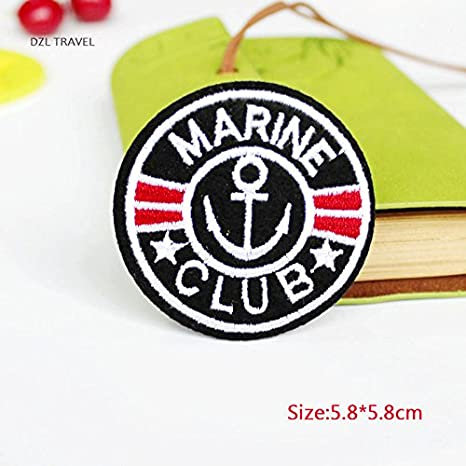 coolpart 1pieza parche Marine Club diseño Logo Kids ropa mujer ...