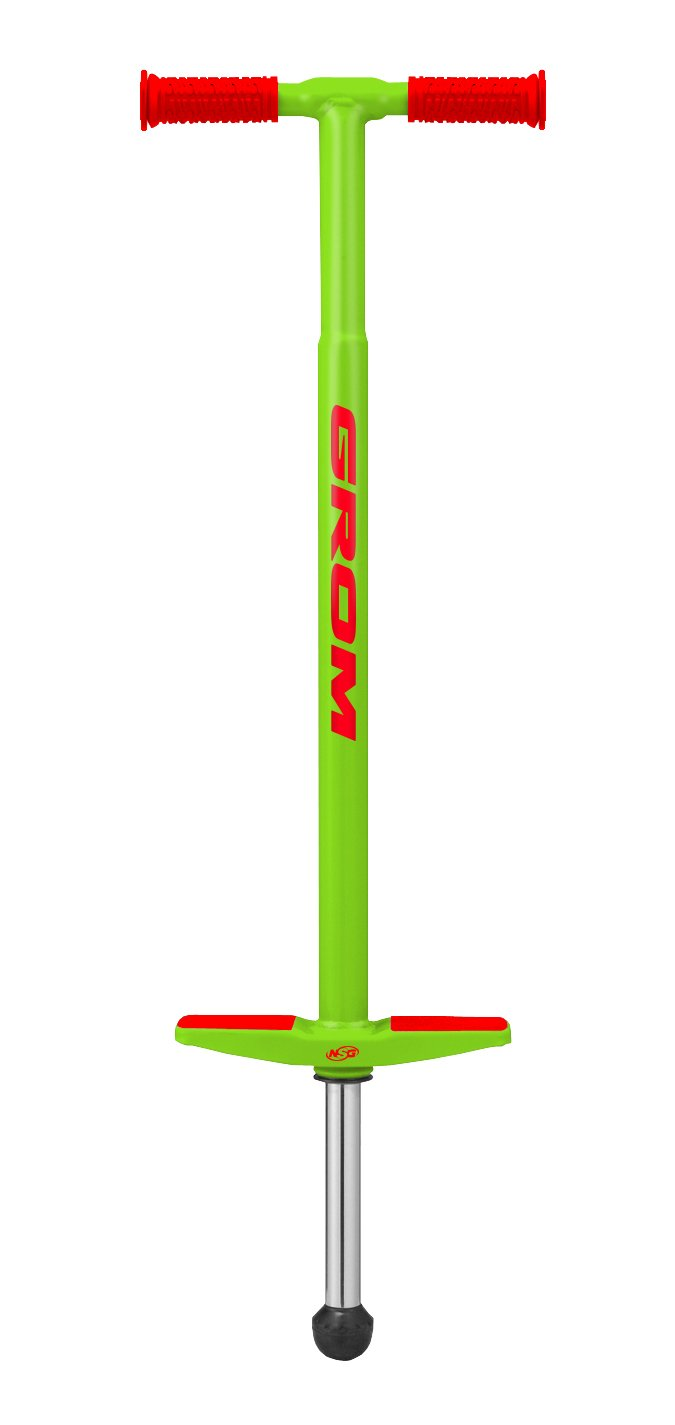NSG Grom Pogo Stick - 5 to 9 Year Olds, 40-90 Pounds, Green by NSG