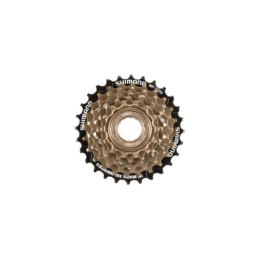 SHIMANO 6 Speed Tourney Bicycle Freewheel Replacement Cluster MF TZ