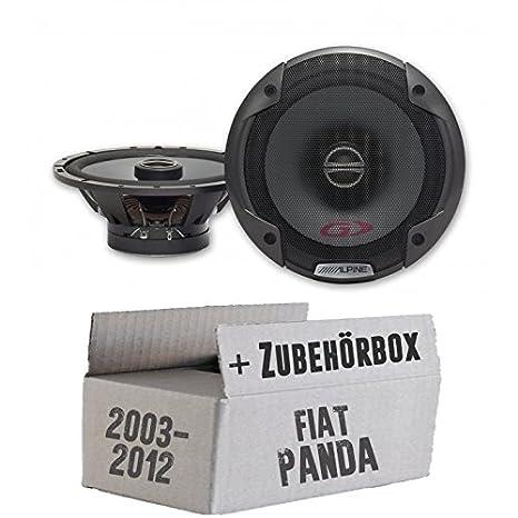 panda-2 6 altavoces para coche FIAT PANDA Alpine