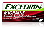 Excedrin Migraine Pain Relief Caplets 200 count for Migraine Relief