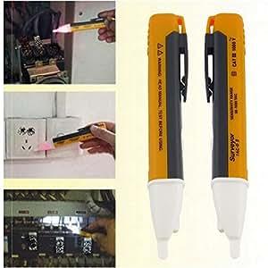 1PCS voltage tester - klein tools - circuit tester - circuit breaker finder - electrical tools Electric indicator 90-1000V Socket Wall Power Outlet Voltage Detector Sensor Tester Pen Free