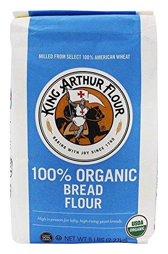 King Arthur Flour - 100% Organic Bread Flour - 5 lbs.