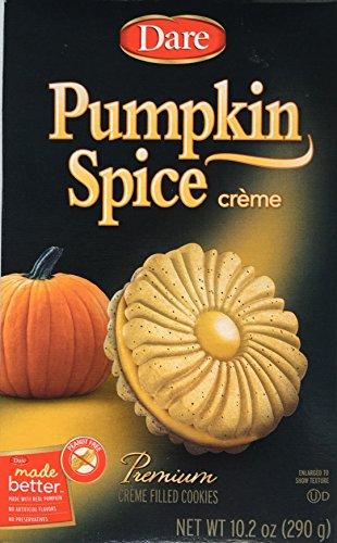Dare Cookie Pumpkin Spice Creme, 10.19 oz