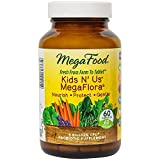 MegaFood - Kids N' Us MegaFlora, Supports Healthy Digestion and Immunity, 60 Count