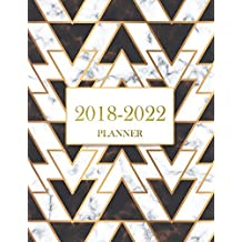 2018-2022 Planner: Agenda Planner For The Next Five Years, 60 Months Calendar,Monthly Schedule Organizer |Appointment Notebook, Monthly Planner, Action Day, Passion Goal Setting