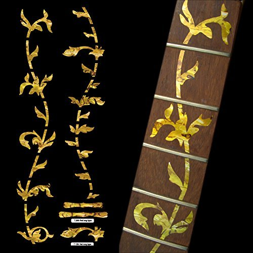 Fretboard Markers Inlay Sticker Decals for Guitar - Tree Of Life-OC