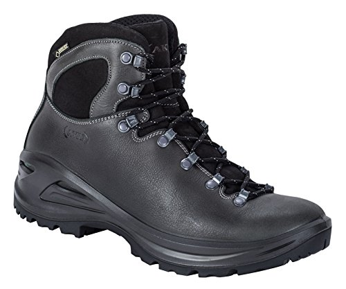 AKU Tribute II GTX - antracita M - EU 38/UK 5/nosotros 5,5 - Mens Gore-Tex® durable impermeable botas de cuero