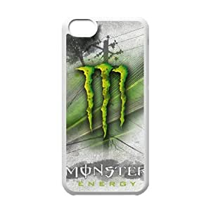 DIY Stylish Printing Monster Energy Cover Custom Case For iPhone 5C MK1Q973299