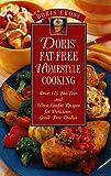 Doris' Fat-Free Homestyle Cooking, Doris Cross, 0761504737