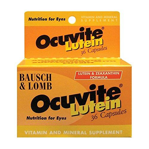 OCUVITE Vitamin Supplement Zeaxanthin Capsules