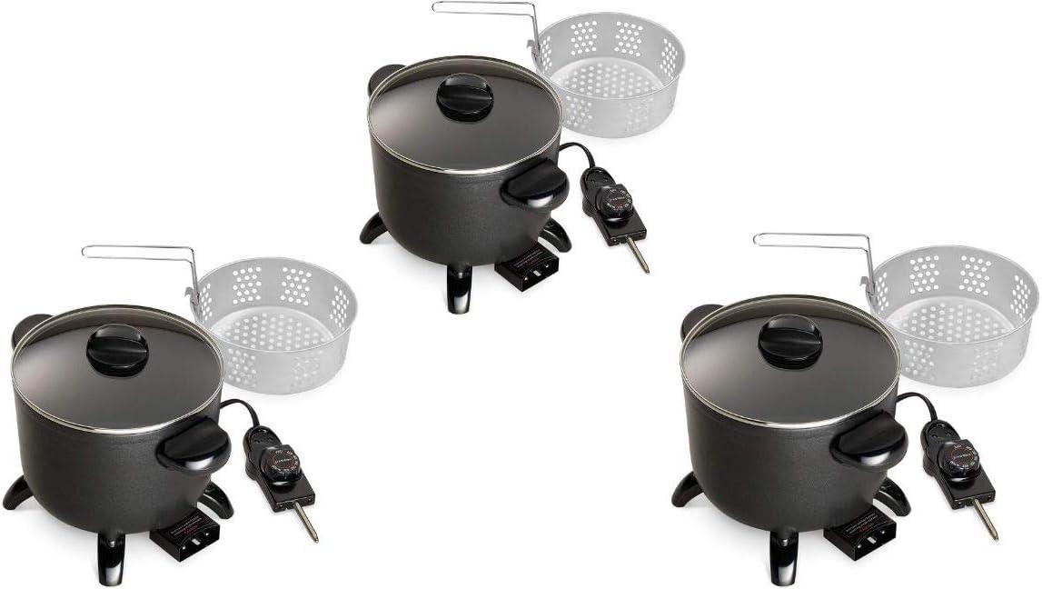 Update Version Kitchen Kettle Multi-Cooker//Steamer