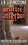 Meurtre à Canterbury par Jacq