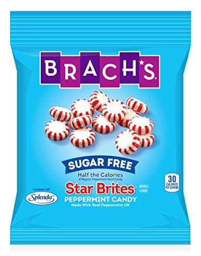 (Brach's Sugar Free Star Brites Hard Peppermint Candy, 3.5 oz)