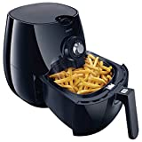 Philips Airfryer with Double Layer Rack with Skewers, Adjustable Temperature Control with 30-minute Timer, Dishwasher Safe