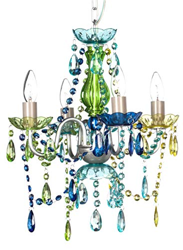 The Original Gypsy Color 4 Light Small Gypsy Chandelier for H 17.5