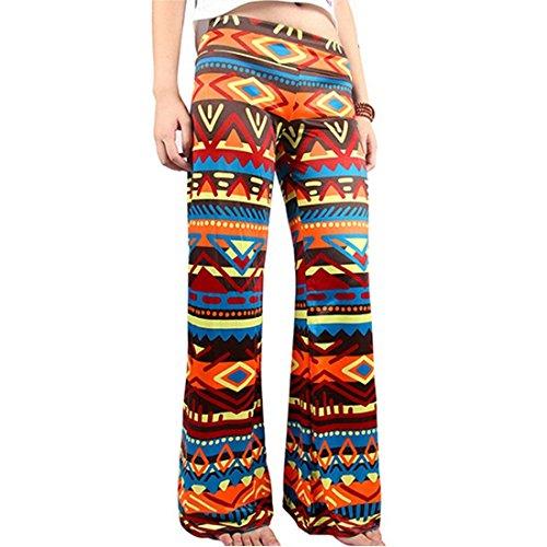 D'été Vêtements Élégant Basic 8 Pantalons Timbres Couleur Femmes Elastische Femme Pantalon Vintage Mode Confortable Temps Libre Large Taille BqwnwAHR6