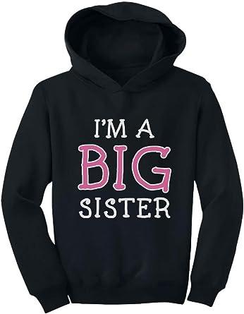 Professional Big Sister Black Kids Hoodie