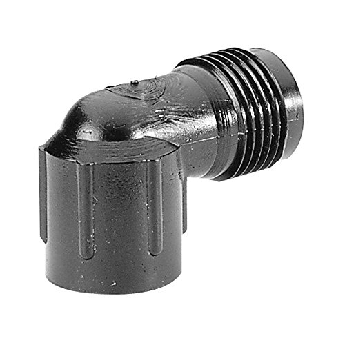 DIG Corp 1/2 in. PVC Pipe Thread x Hose Thread Conversion Elbow]()