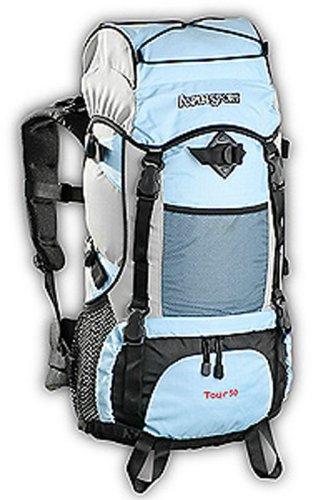 AspenSport Rucksack Tour, blau, 70 x 35 x 20 cm, 50 Liter, AB04J01