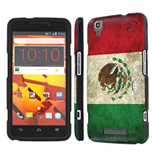 NakedShield ZTE Boost MAX N9520 (Flag Mexico) Total Hard Armor Art Phone Case