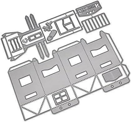 pushfocourag - Caja de Regalo 3D para la casa, Troquelado, Manual ...