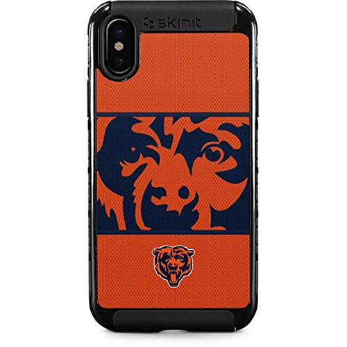 Chicago Bears Zone Block iPhone XS Case - NFL | Skinit Cargo Case - Rugged & Tough iPhone XS Cover
