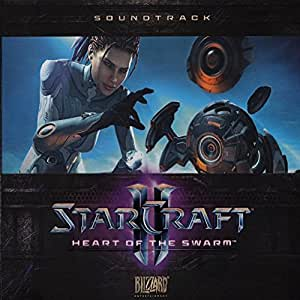 StarCraft II (2) Heart of the Swarm Original Soundtrack CD