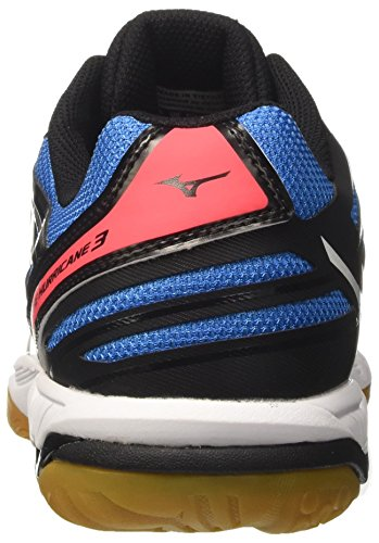 Mizuno Hurricane Homme Black White EU 41 Multicolore de Volleyball Noir Wave Chaussures Fierycoral rBqZr5