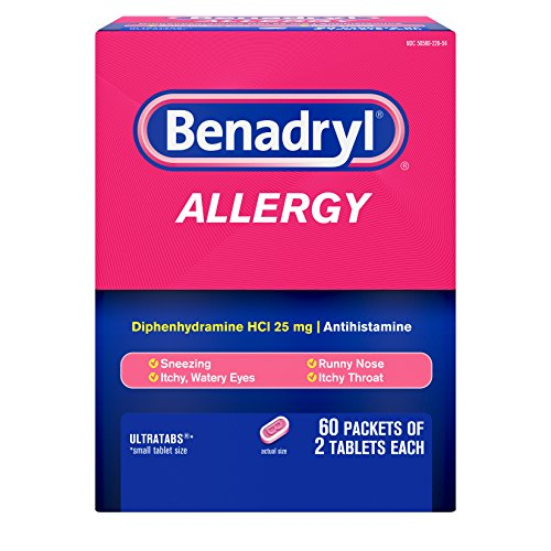 Which are the best allergy medicine individual packets available in 2019?
