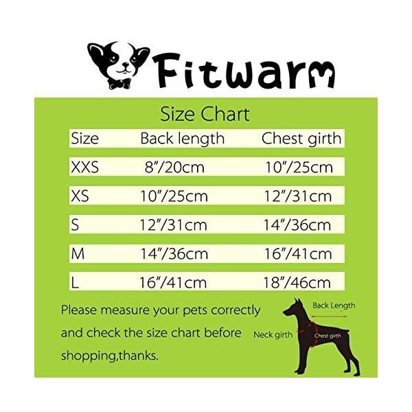 Fitwarm Fairy Mermaid Pet Clothes Dog Dresses Sundress Cat Vest Shirts 7