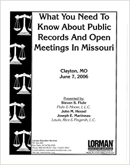 What You Need to Know About Public Records and Open Meetings