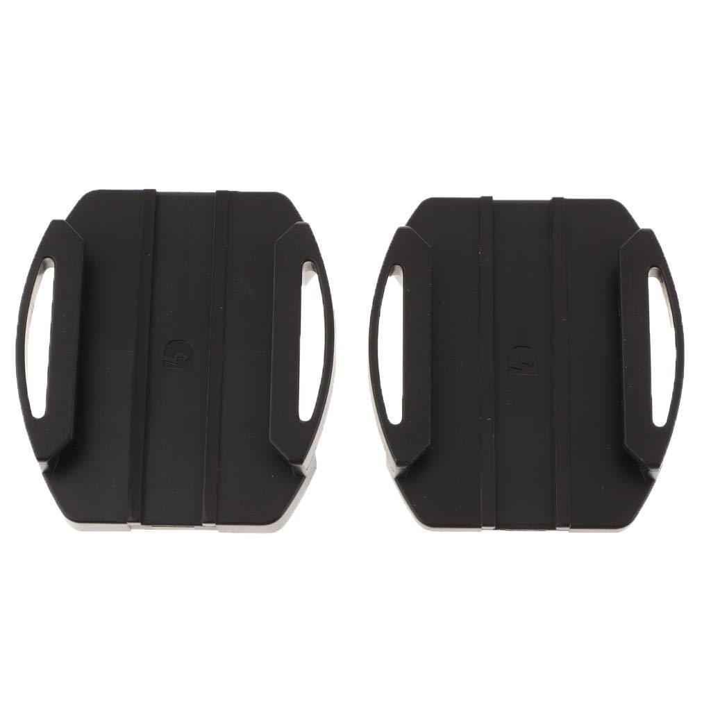 perfk 2 Supporti con 2 Adesivi Adesivi Adesivi Kit di Accessori per Videocamera Sony Action Cam VCT-AM1