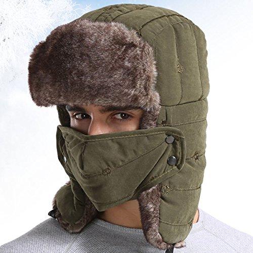 Unisex Hombre Darkgray Prueba Caliente Sombrero De Bombardero A Patinaje Máscara Senderismo De Trampero Esquí Viento Para De Sombreros O Caza De De Gorro Soldado Esquí xqpfUAwIw
