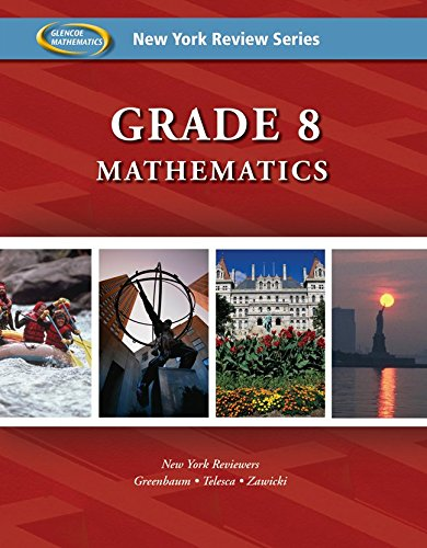 New York Review Series: Grade 8 Mathematics Review Workbook pdf