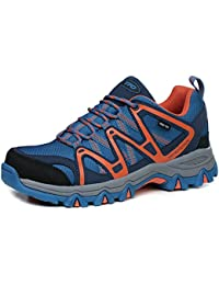 Mens & Womens Lightweight First-Tex Waterproof Hiking Running Shoes Unisex Lace Up Trekking Sneakers Sports