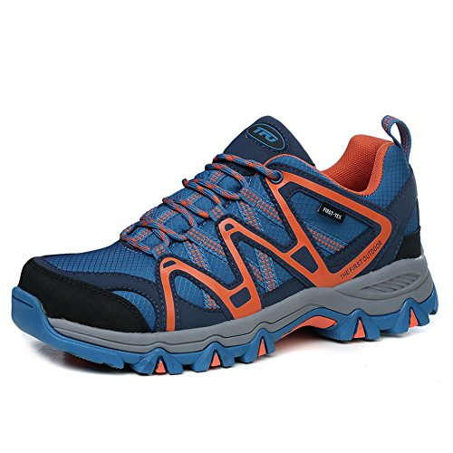 - The First Outdoor Mens Lightweight First-Tex Waterproof Hiking Running Shoes, US 10