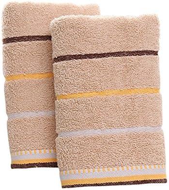 100% algodón PLAIN Juego De Toallas para mujer hombre cara toallas ...