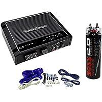 Rockford Fosgate Prime R500X1D 500W RMS Mono Class D Amplifier + Amp Kit + Cap