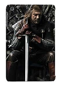 Chistmas' Gift - Cute Appearance Cover/tpu NUxGEUg3285ksxMR Ned Stark Game Of Thrones Case For Ipad Mini/mini 2