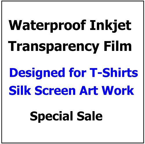 Waterproof Inkjet Screen Positive Film 13