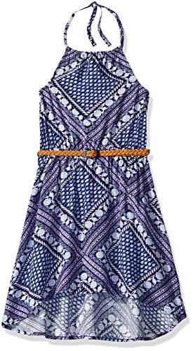 The Children's Place Girls' Big Halter Top Maxi Dress, Milky Way -