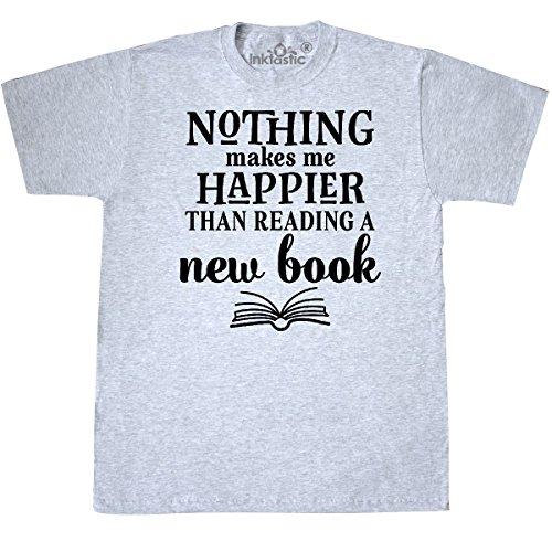 inktastic Book Club Reading Librarian Gift T-Shirt Medium Ash Grey 2e1c1 Librarian Ash Grey T-shirt