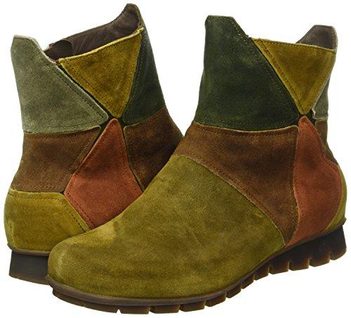 Ankle Boots Kombi Green Menscha Uk Think Green 7 safari 52 Women's afEwW4q7