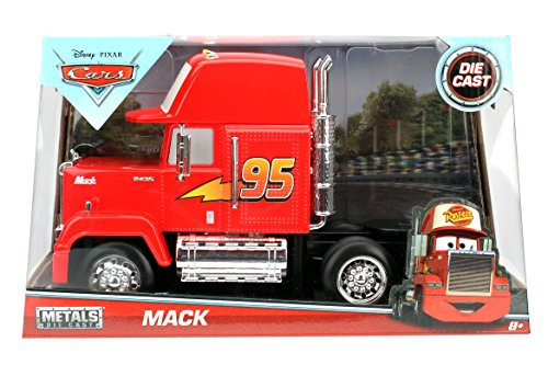 ANAA-98103-Disney Diecast Cars 1:24 Scale Mack Truck Made