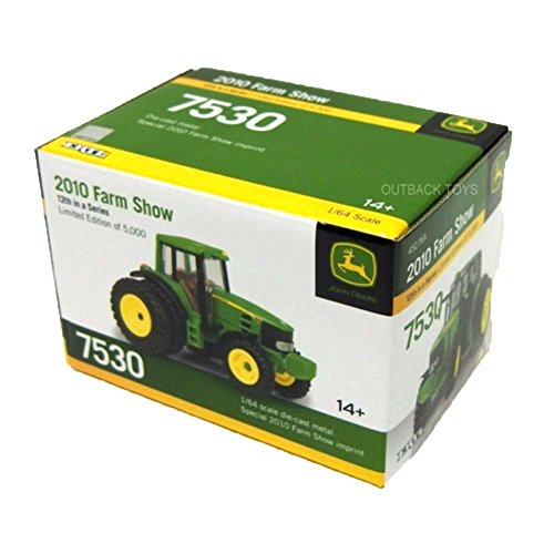 1/64th Limited Edition 2010 Farm Show John Deere 7530 with (64th Limited Edition)