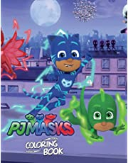 PJ Masks Coloring Book: Coloring Book, For Kids Ages 4-8 , 8-12, Gift For Kids, Crafts For Boys and Girls