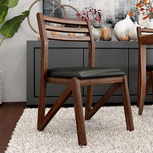 Durian Adlis Green Solid Wood Dining Chair  Set of 2