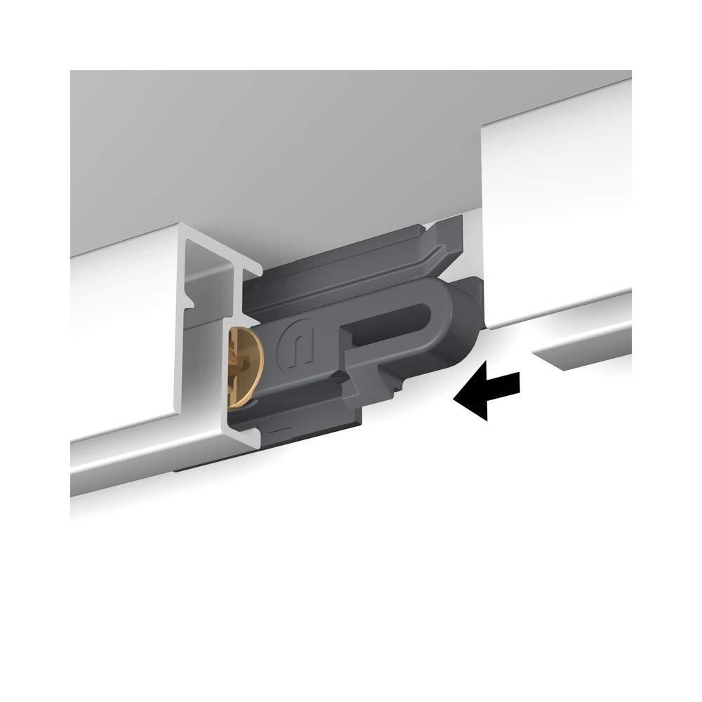 NEWLY Rail R10-200 cm Aluminium anodis/é Max 20kg//m